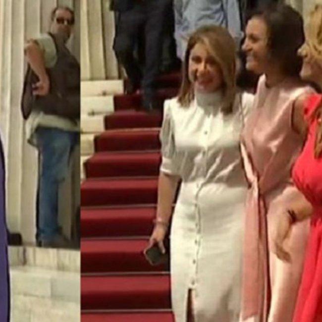 Οι κυρίες που μαγνήτισαν τα βλέμματα στην ορκωμοσία της νέας Βουλής - Οι εμφανίσεις που ξεχώρισαν