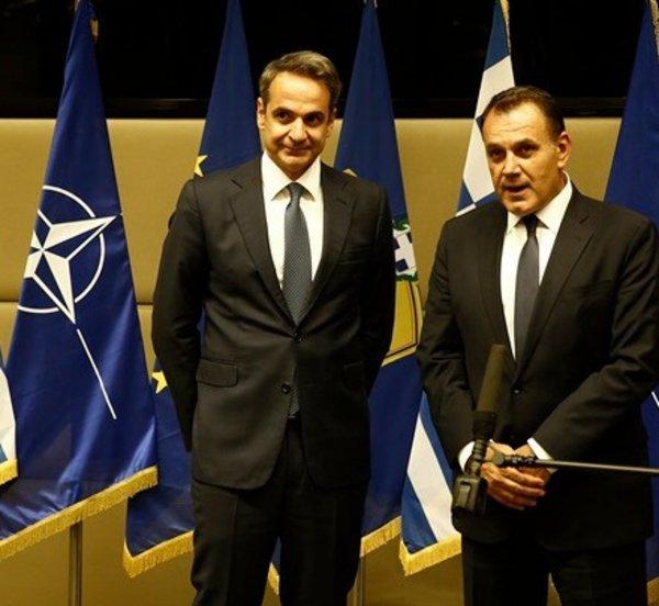 Το αξιόμαχο των Ενόπλων Δυνάμεων και το υψηλό ηθικό του στρατεύματος εξήρε ο K. Mητσοτάκης