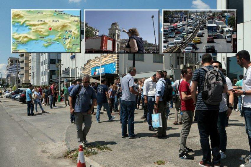 Ισχυρός σεισμός 5,1 Ρίχτερ ταρακούνησε την Αττική στις 14:13 - Ισχυροί μετασεισμοί