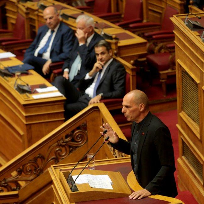 Βαρουφάκης: Οι δανειστές θα σας θεωρήσουν άξιο συνεχιστή του κ.Τσίπρα, πιο αξιόπιστο ποτέ κ. Μητσοτάκη