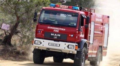 Φωτιά σε εξέλιξη στην περιοχή Κάντια του Ναυπλίου