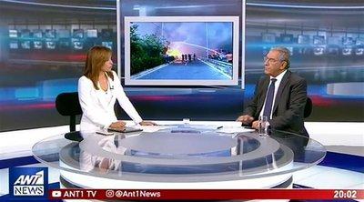 Καπερνάρος στον ΑΝΤ1: Να δικαστούν για ανθρωποκτονία από πρόθεση οι υπαίτιοι της τραγωδίας στο Μάτι