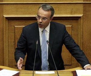 Σταϊκούρας: Θα επιδιώξουμε διεύρυνση φορολογικής βάσης - Ο σχεδιασμός για τα ακίνητα