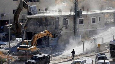 Ισραήλ: Οι Αρχές κατέστρεψαν 10 παλαιστινιακά κτίρια σε προάστιο της Ιερουσαλήμ