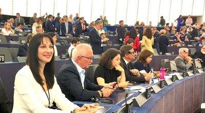 H Έλενα Κουντουρά συντονίστρια των μελών της Ευρωομάδας GUE/NGL στην Επιτροπή Μεταφορών και Τουρισμού του Ευρωπαϊκού Κοινοβουλίου ΤRAN