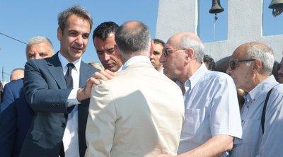 Στο μνημόσυνο για τα 102 θύματα της τραγωδίας στο Μάτι ο πρωθυπουργός - Ανακοίνωσε άμεσες παρεμβάσεις