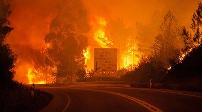 Πορτογαλία: Οι πυροσβέστες ελπίζουν ότι θα κατασβέσουν τις πυρκαγιές σήμερα