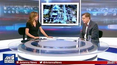 O Κώστας Συνολάκης στον ΑΝΤ1 για την τραγωδία στο Μάτι, το «112» και τον «ισχυρό σεισμό»