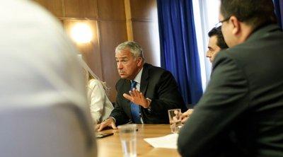 Με εκπροσώπους από Ενώσεις και Συνδέσμους συναντήθηκε ο Μ. Βορίδης