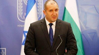 Βουλγαρία: Ο πρόεδρος Ράντεφ άσκησε βέτο στην αγορά των αμερικανικών μαχητικών F-16 για οικονομικούς λόγους