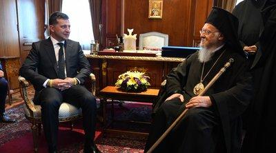 Επίσκεψη του Προέδρου της Ουκρανίας στο Οικουμενικό Πατριαρχείο