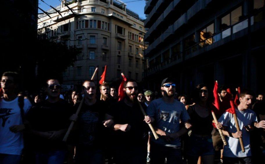 Κινητοποίηση φοιτητών με πορεία στην Αθήνα για το άσυλο