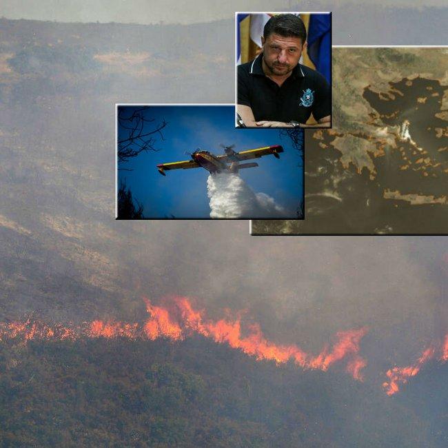 Πύρινη κόλαση στην Εύβοια: Στα πρώτα σπίτια στο Μακρυμάλλη οι φλόγες - Εκκενώθηκαν 3 χωριά