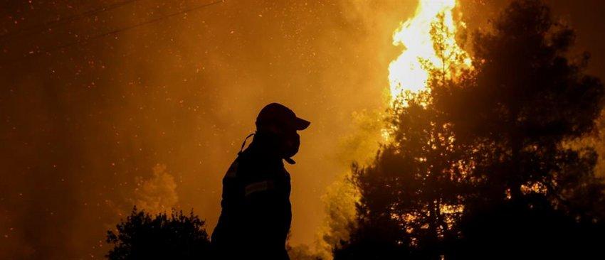 «Δάκτυλος» εμπρηστών η φωτιά στην Εύβοια; - Τι λέει ο εκπρόσωπος της Πυροσβεστικής