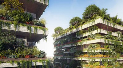 Τα πρώτα «κάθετα δάση», θα δημιουργήσει ο Ιταλός αρχιτέκτονας 45 χλμ. ανατολικά του Καΐρου