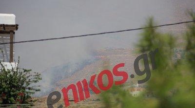 Πυρκαγιά στη Σύρο – Οι πρώτες εικόνες