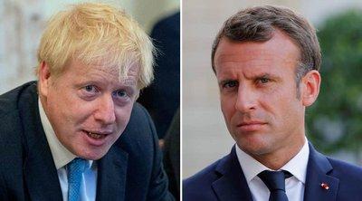 Brexit: Συνάντηση Μακρόν - Τζόνσον στις 22 Αυγούστου
