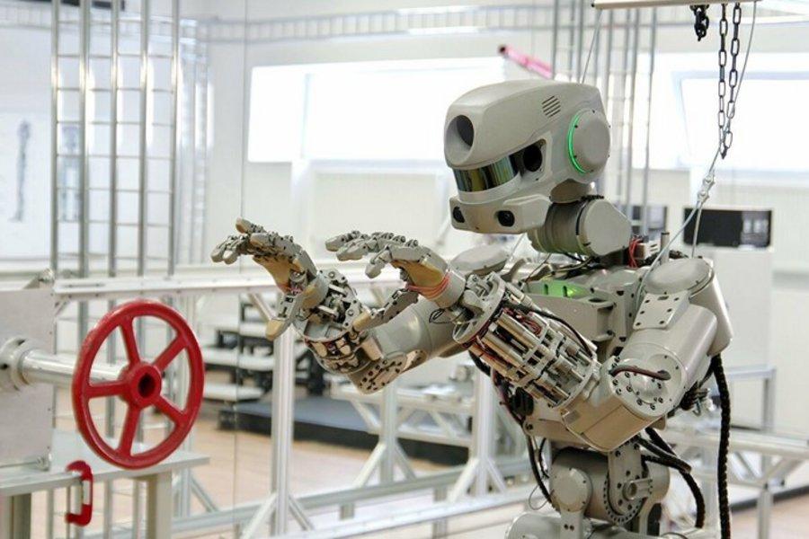 Η Ρωσία έστειλε στον Διεθνή Διαστημικό Σταθμό το πρώτο της ανθρωποειδές ρομπότ