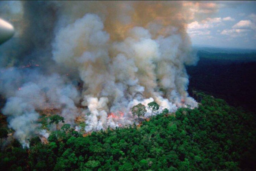 Ο Αμαζόνιος στις φλόγες - Οργή για την καταστροφή