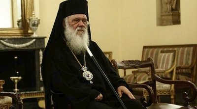 Τον αρχηγό της ΕΛΑΣ και τη Γιάννα Αγγελοπούλου δέχτηκε ο Αρχιεπίσκοπος Ιερώνυμος