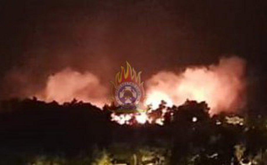 Σε ύφεση η πυρκαγιά στον Διόνυσο Αττικής - Αναλυτικά οι δυνάμεις