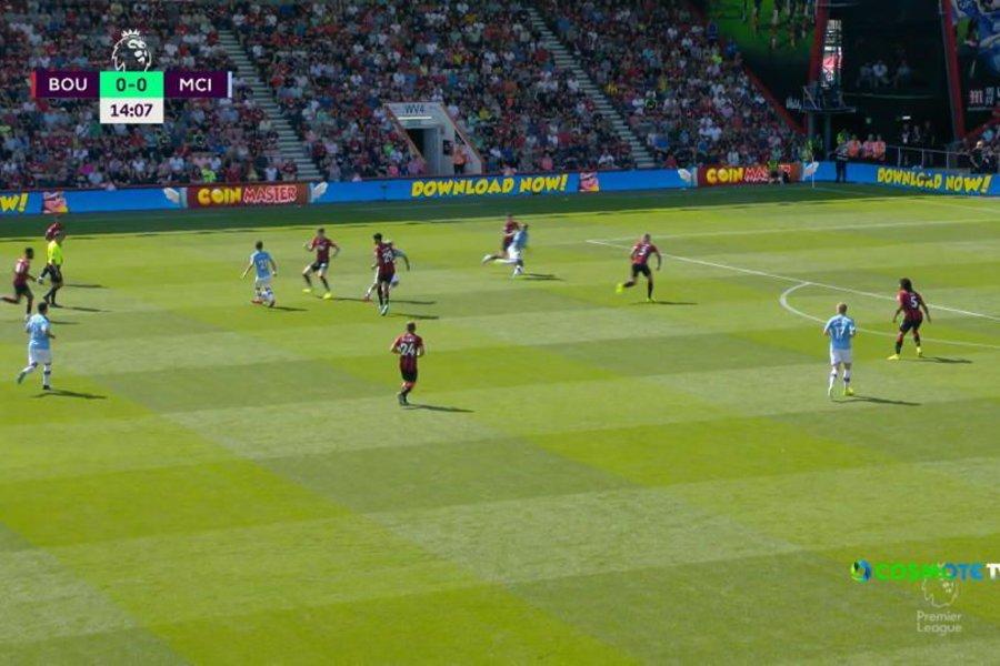 Μπόρνμουθ - Μάντσεστερ Σίτι 1-3: Δείτε τις καλύτερες φάσεις και τα γκολ
