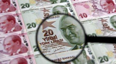 Τουρκία: Κοντά σε ιστορικά χαμηλό η τουρκική λίρα