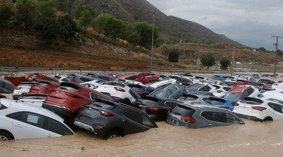 Ισπανία: Στους τρεις ανήλθε ο αριθμός των νεκρών από τις καταρρακτώδεις βροχές