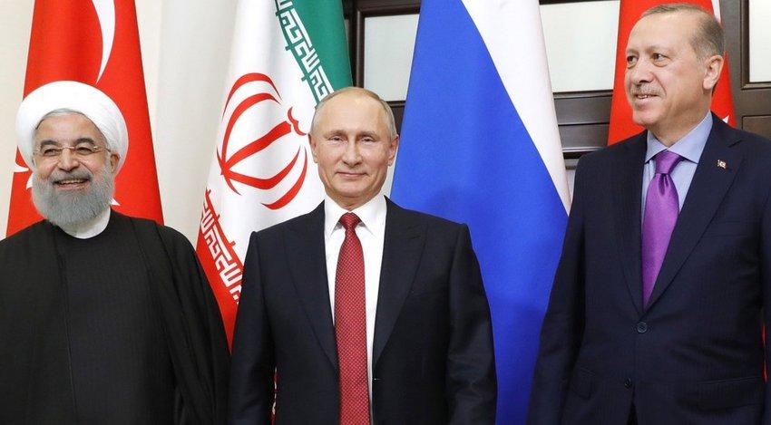Συνάντηση Πούτιν, Ερντογάν και Ροχανί στην Άγκυρα στις 16 Σεπτεμβρίου