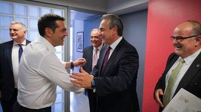 Τσίπρας: Να συνεχιστεί η προσπάθεια που έκανε η κυβέρνηση ΣΥΡΙΖΑ για τη Β. Ελλάδα