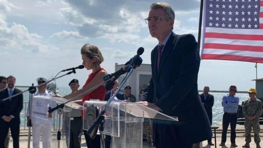 Τζ. Πάιατ: Κρίσιμο το λιμάνι της Αλεξανδρούπολης για την ευρωπαϊκή ενεργειακή ασφάλεια και την οικονομική ανάπτυξη