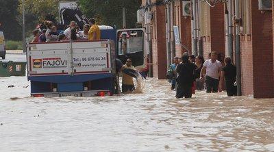 Ισπανία: Στους 7 οι νεκροί από τις καταστροφικές πλημμύρες