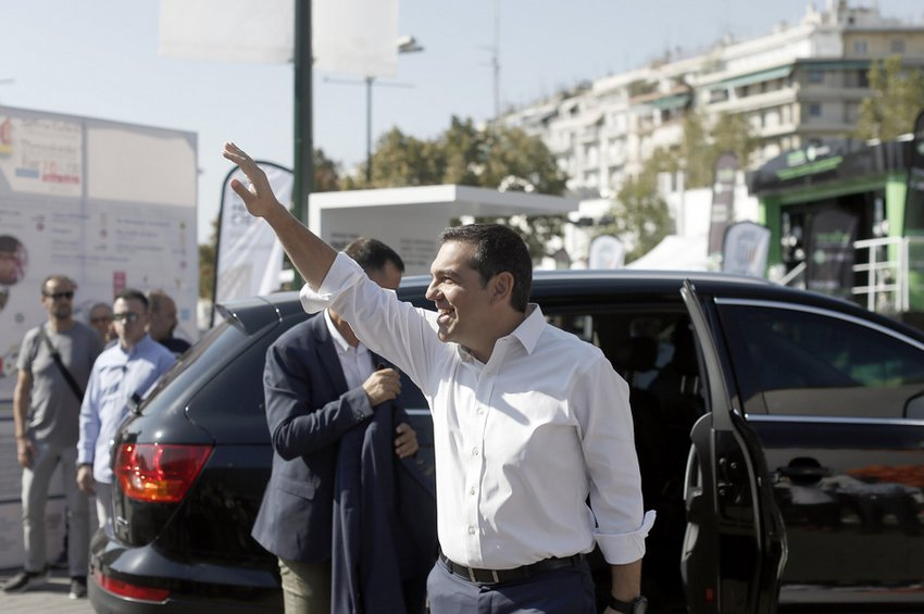 Ο Τσίπρας στα περίπτερα ΠΑΟΚ, Αρη, Ηρακλή και στην έκθεση κάνναβης της ΔΕΘ - Στις 19:30 η ομιλία του