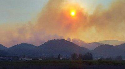 Ολονύκτια μάχη με τις φλόγες στη Ζάκυνθο