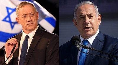 Ισραήλ: Τα έξιτ πολ δείχνουν μάχη στήθος με στήθος του Νετανιάχου με τον Γκαντς
