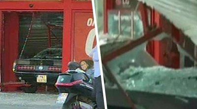 Κινηματογραφική ληστεία σε κατάστημα στην Πέτρου Ράλλη - «Μπούκαραν» με ΙΧ