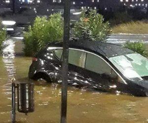 «Άνοιξαν οι ουρανοί» σε Θεσσαλονίκη, Τρίκαλα και Ήπειρο: Βροχές και σφοδρές χαλαζοπτώσεις