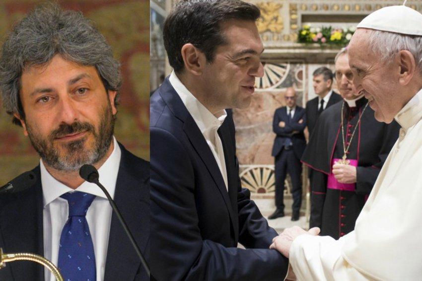 Στην Ιταλία ο Τσίπρας: Συνεργασία ΣΥΡΙΖΑ και 5 Αστέρων - Το Σάββατο συνάντηση με τον Πάπα