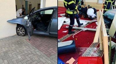 Οδηγός στη Γαλλία έριξε το αυτοκίνητό του στο Μεγάλο Τέμενος του Κολμάρ