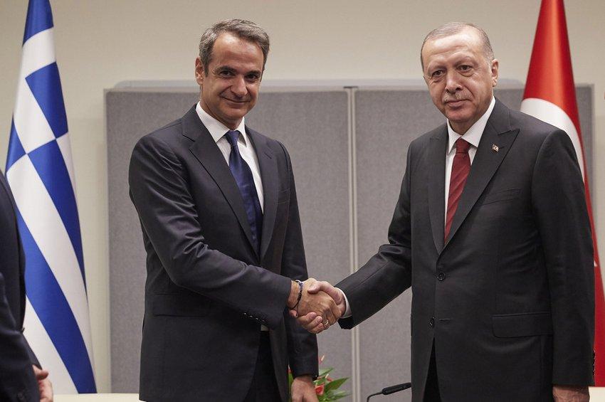Συνάντηση Ερντογάν-Μητσοτάκη στο Λονδίνο την Τετάρτη - Τούρκος Πρόεδρος: Η Αθήνα μπορεί να κάνει τα βήματα που θέλει και η Άγκυρα θα κάνει τα δικά της