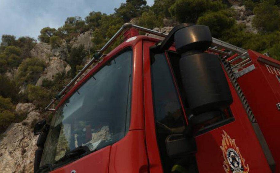 Ρέθυμνο: Πυρκαγιά στο Αμάρι – Επί ποδός η Πυροσβεστική