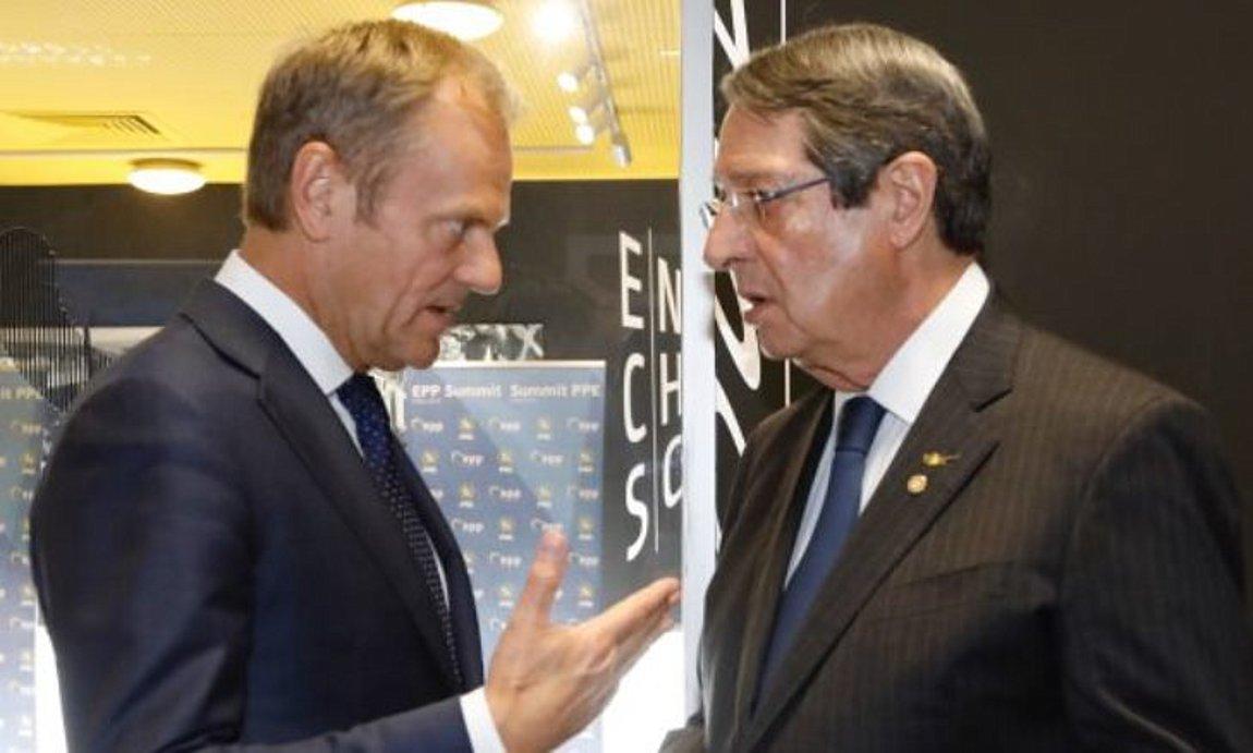 Ο Αναστασιάδης ενημέρωσε τον Πούτιν για τις τουρκικές