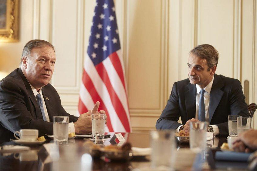 Mητσοτάκης σε ΥΠΕΞ των ΗΠΑ: H Toυρκία αμφισβητεί τα κυριαρχικά δικαιώματα Ελλάδας-Κύπρου