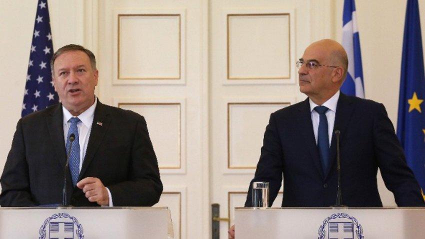 Πομπέο: Δεν μπορούμε να αφήσουμε την Τουρκία να κάνει παράνομες γεωτρήσεις - Το μήνυμα Δένδια στην Αγκυρα