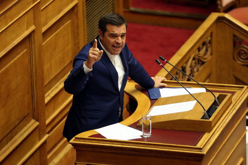 Τσίπρας: Είναι και ρεβανσιστές και δειλοί ταυτόχρονα - ΝΔ: Φάνηκε η ανευθυνότητά του