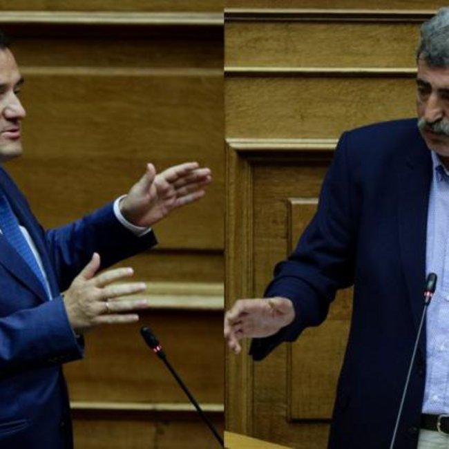 Σκληρή κόντρα Γεωργιάδη-Πολάκη στη Βουλή: «Όταν με βλέπεις τρέμεις σύγκορμος» - «Σας τρώμε για πρωινό»