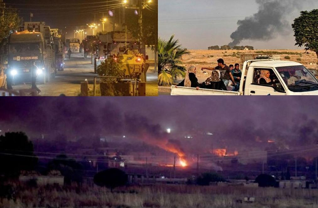 Μετά τις βόμβες άρχισε η χερσαία επίθεση των Τούρκων στη Συρία - Τουλάχιστον 15 νεκροί