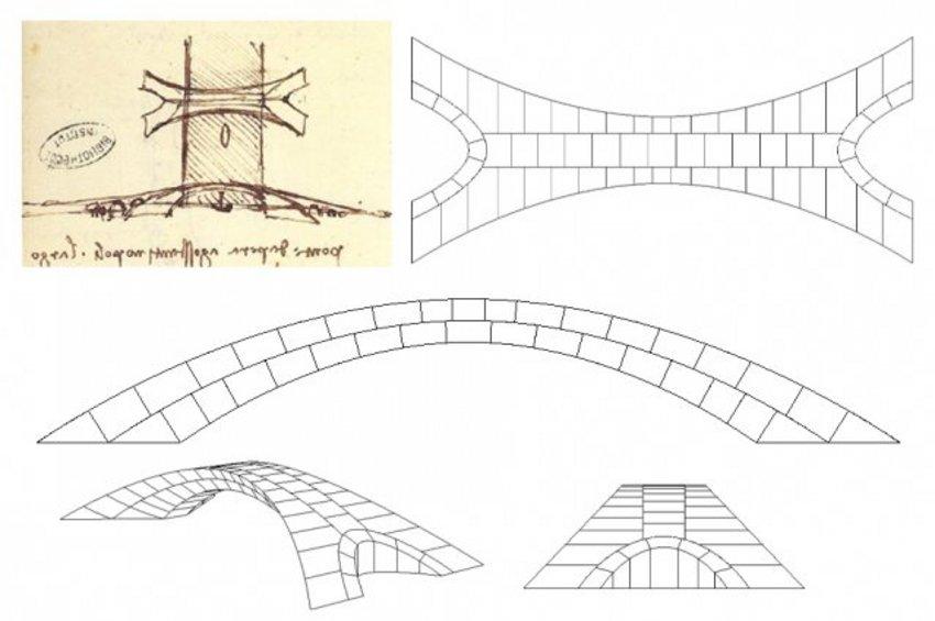 Ο Λεονάρντο Ντα Βίντσι είχε σχεδιάσει τη μεγαλύτερη πέτρινη γέφυρα στον κόσμο - «Θα ήταν πολύ ανθεκτική» λένε μηχανικοί του ΜΙΤ