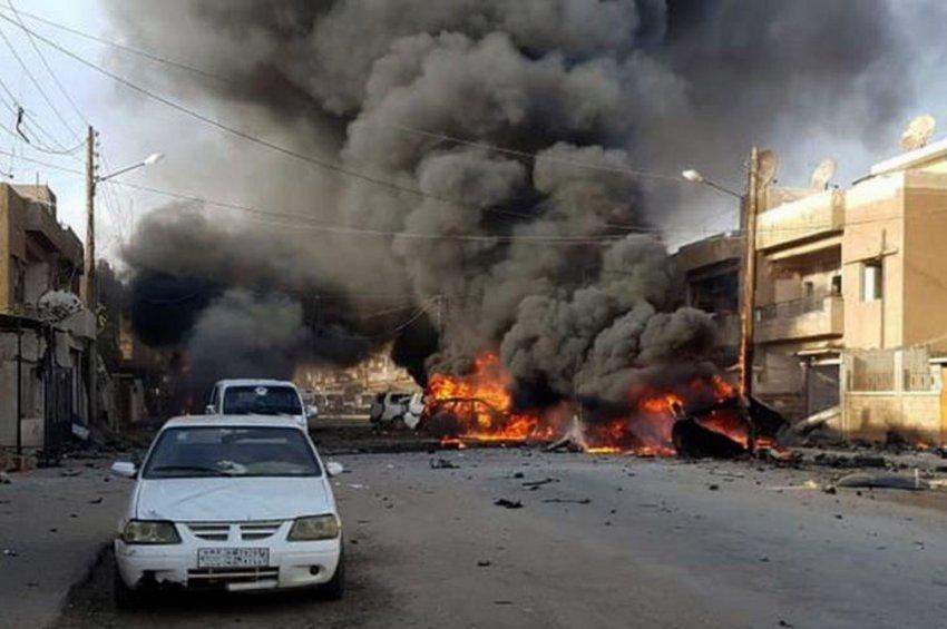 «Σφαγή» αμάχων με 26 νεκρούς στη Συρία - Χτύπησαν και κομβόι με δημοσιογράφους - ΒΙΝΤΕΟ