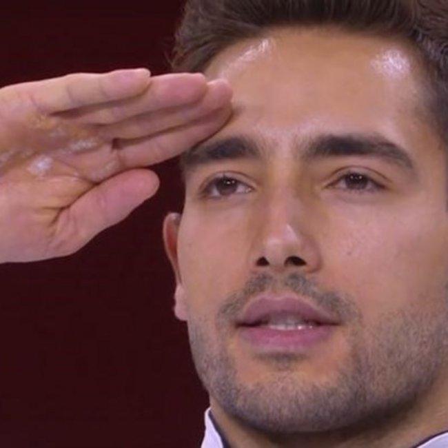 Σάλος με τον στρατιωτικό χαιρετισμό του Τούρκου πρωταθλητή που νίκησε τον Πετρούνια